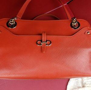 Ferragamo handbag - Coral color